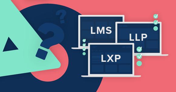 Lärplattfromar LMS, LXP, LLP