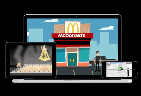 mcdonalds digital learning
