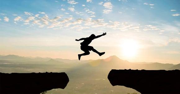 Mand tager springet og booster sin udvikling