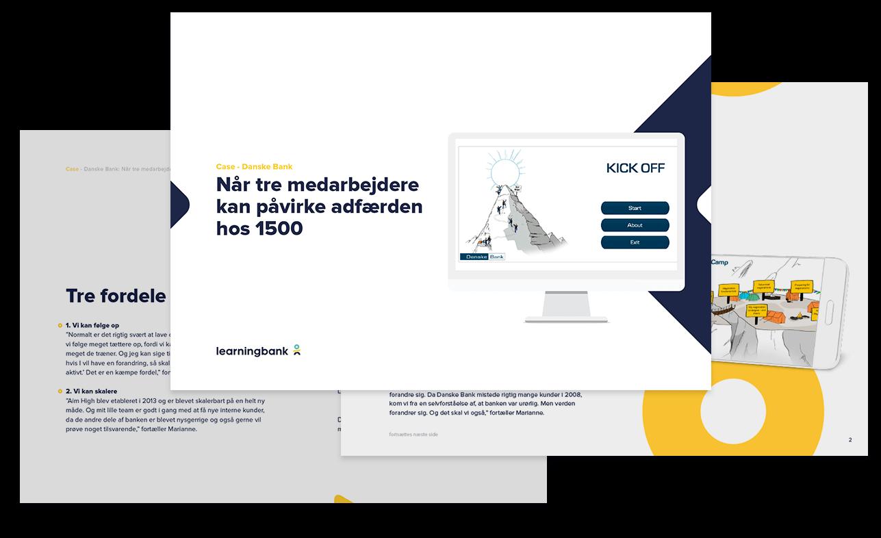 case danske bank digital læring