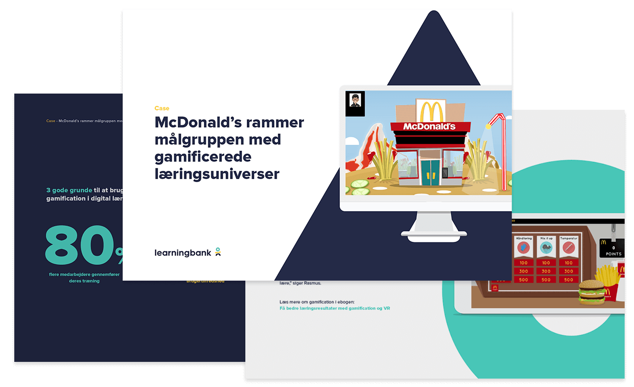 mcdonald's digital læring case