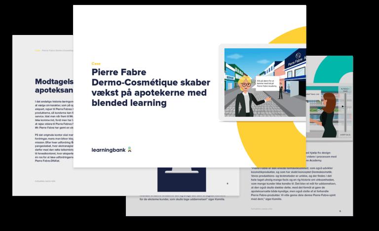 digital læring og træning hos pierre fabre case